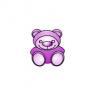 Cool Purple Teddy Bear